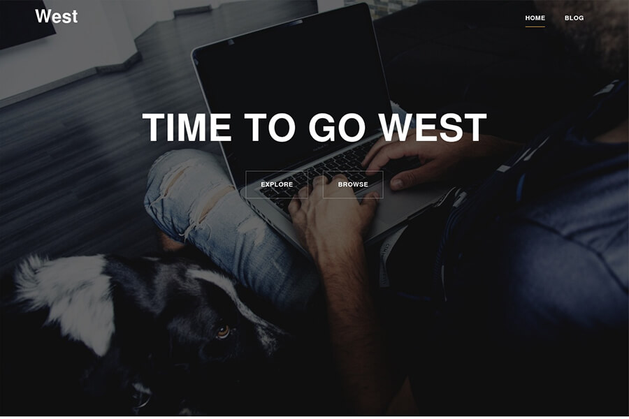 West - free WordPress theme