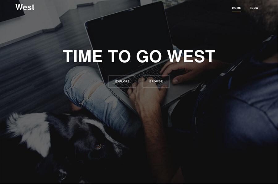 West - free WordPress theme