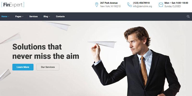 FinExpert - Premium Business WordPress Theme