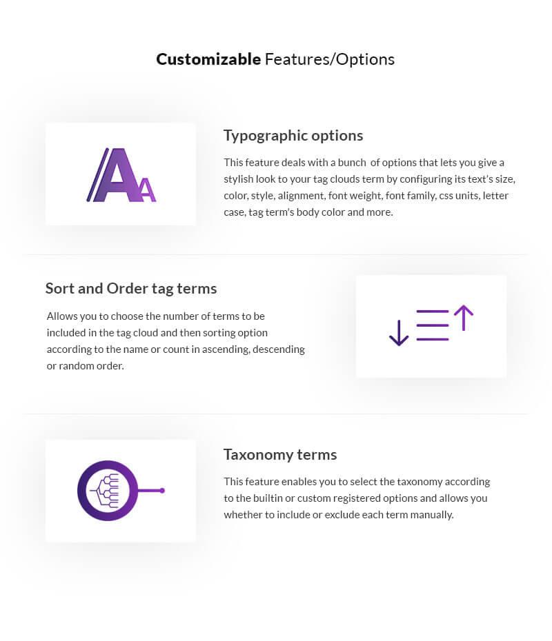 8 Degree Easy Tags Pro – WordPress Tags Designer Premium Plugin
