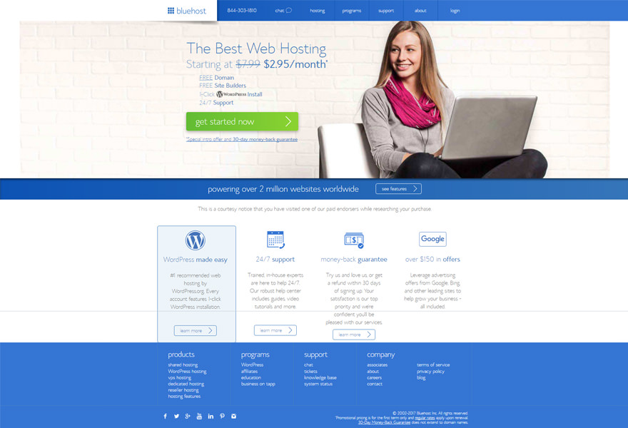Bluehost - Top WordPress Hosting Solutions