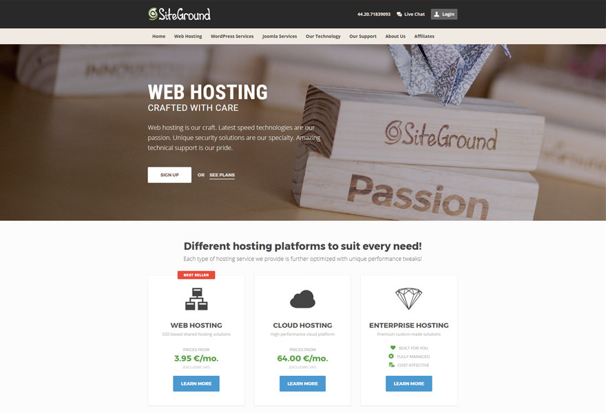 SiteGround - Top WordPress Hosting Solutions Comparison