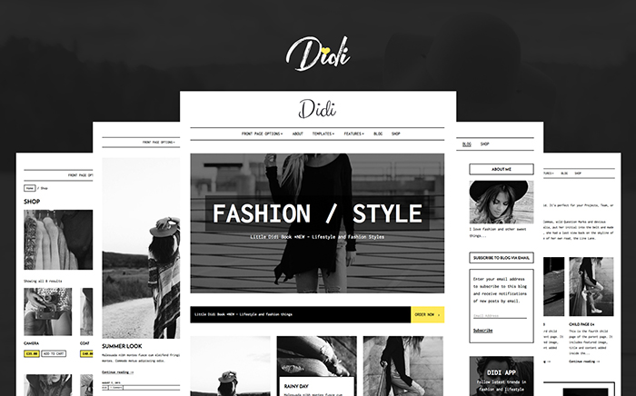 Didi - Fashion WordPress Theme