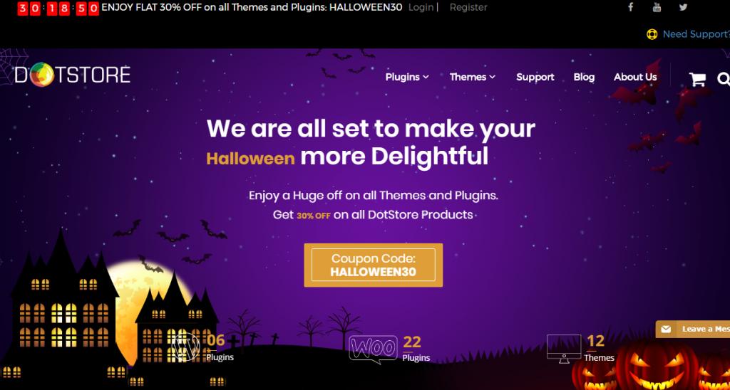 DOTSTORE- WordPress Deals and Discounts for Halloween