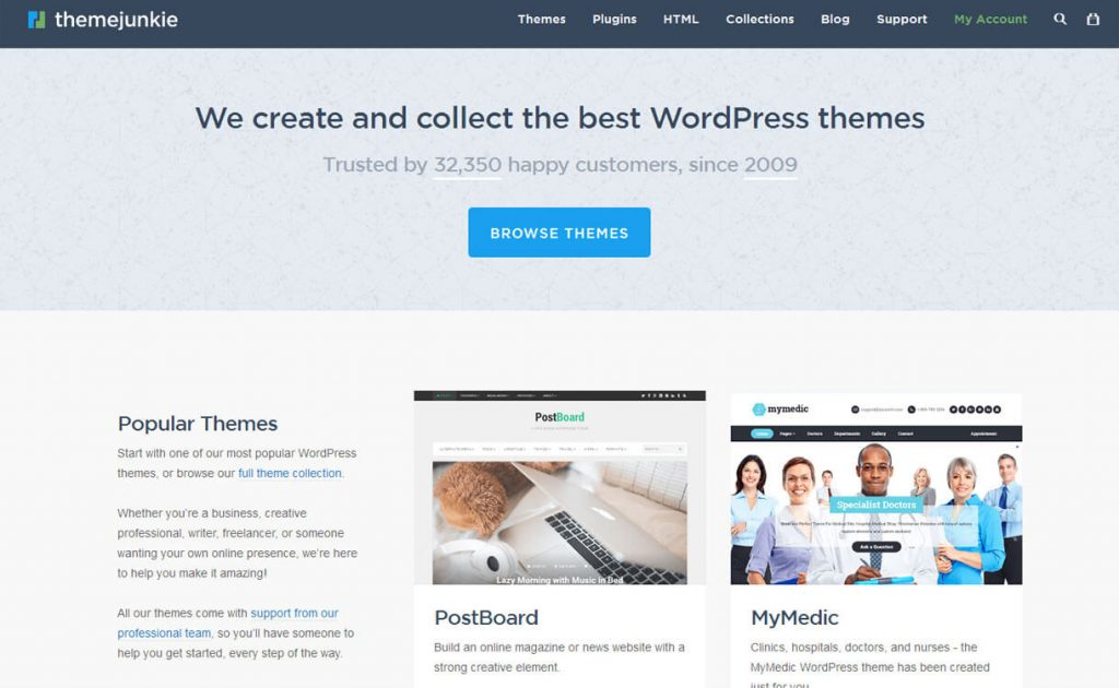 Theme Junkie - WordPress Deals and Discounts for Halloween