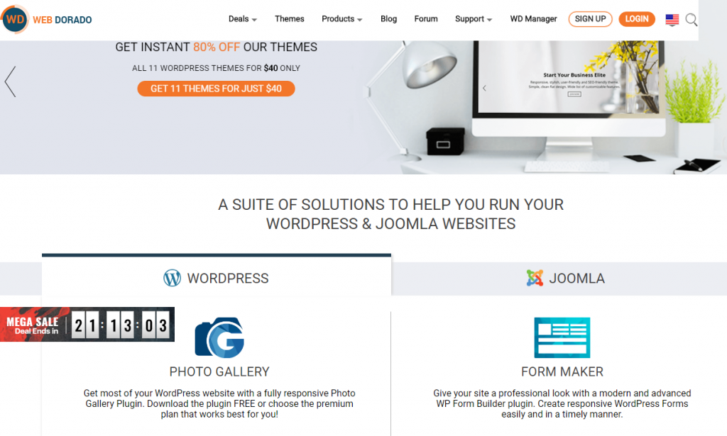 Web Dorado - WordPress Deals and Discounts for Halloween