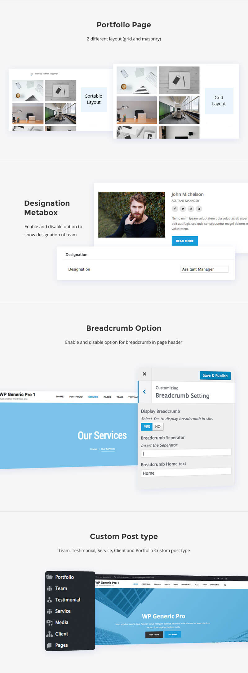 WP Generic Pro – Best Multipurpose WordPress Premium Theme