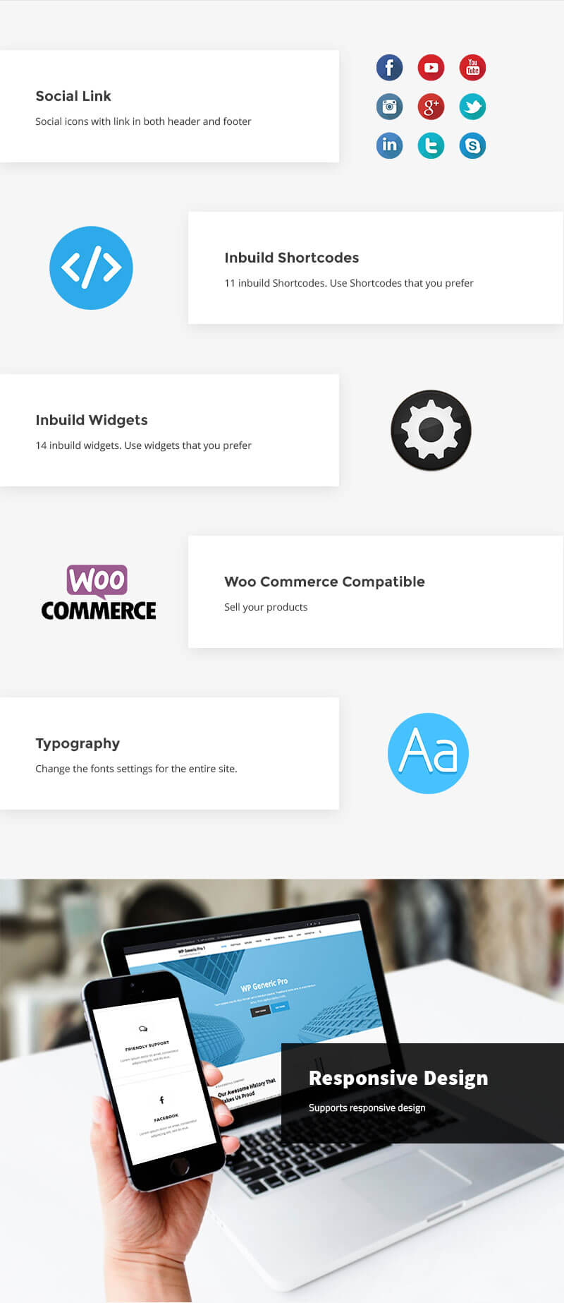 WP Generic Pro – Best Multipurpose WordPress Premium Theme