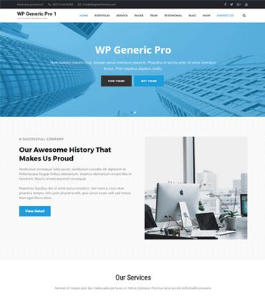 WP Generic Pro - Best Multipurpose WordPress Premium Theme