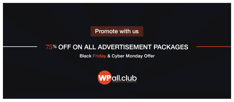 WPALL Club-WordPress Black Friday and Cyber Monday Deals
