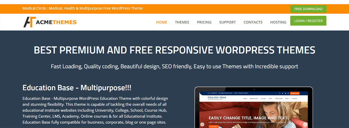 Acme Themes - WordPress Black Friday and Cyber Monday Deals