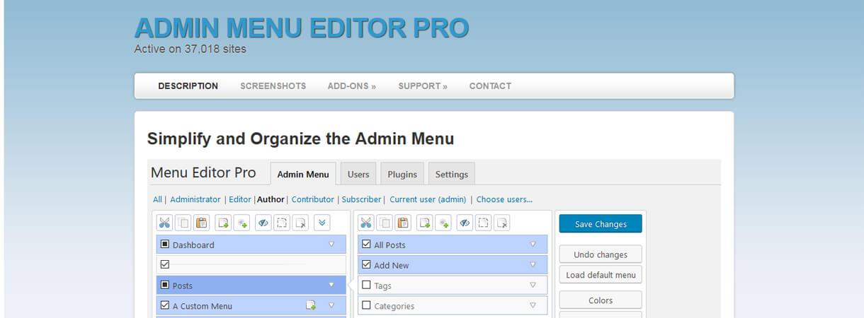 Admin Editor Pro-WordPress Black Friday and Cyber Monday Deals