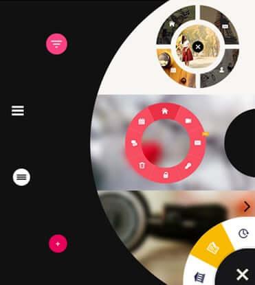 Eight Degree Circular Menu - Floating Circular Navigation Menu for WordPress