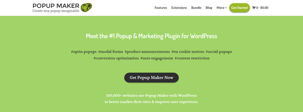 Popup Maker - WordPress Black Friday and Cyber Monday Deals