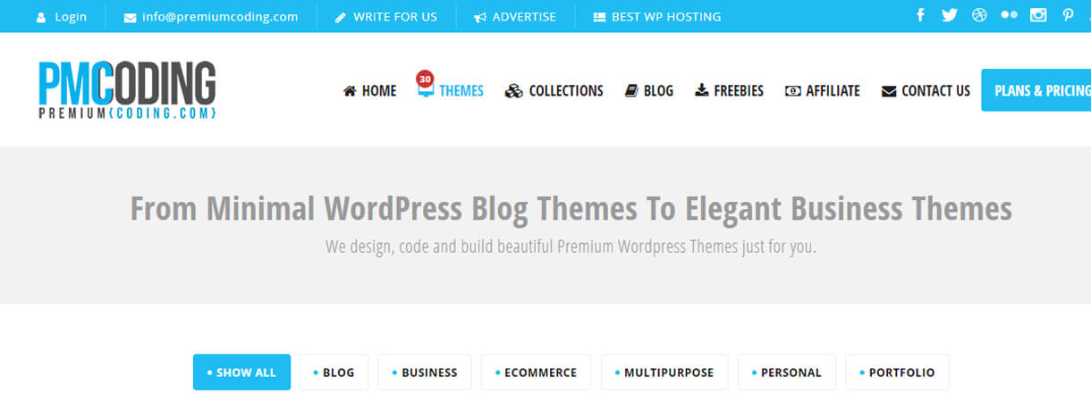 Premium Coding Themes-WordPress Black Friday and Cyber Monday Deals