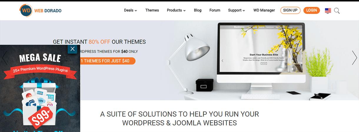 Web-Dorado - WordPress Black Friday and Cyber Monday Deals