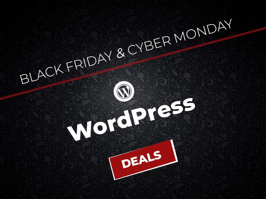 Best WordPress Black Friday & Cyber Monday Deals 2017
