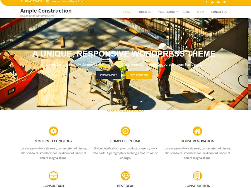 ample-construction-free-wordpress-theme