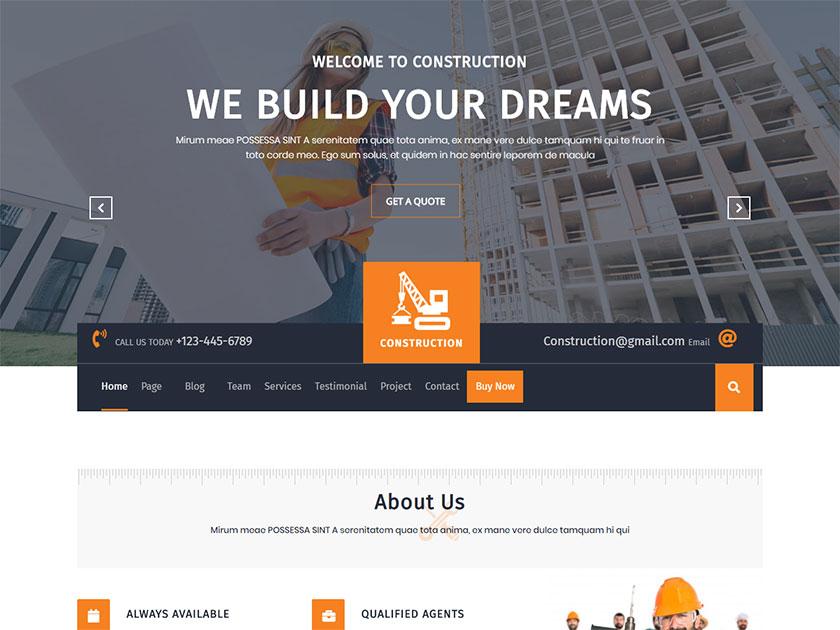 construction-hub-free-wordpress-construction-theme