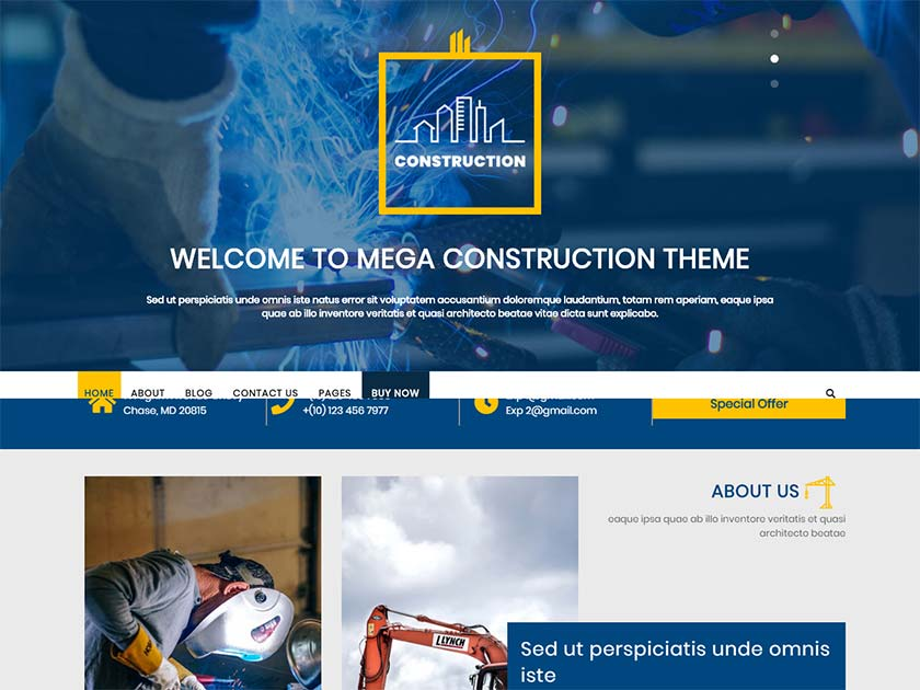mega-construction-free-wordpress-theme