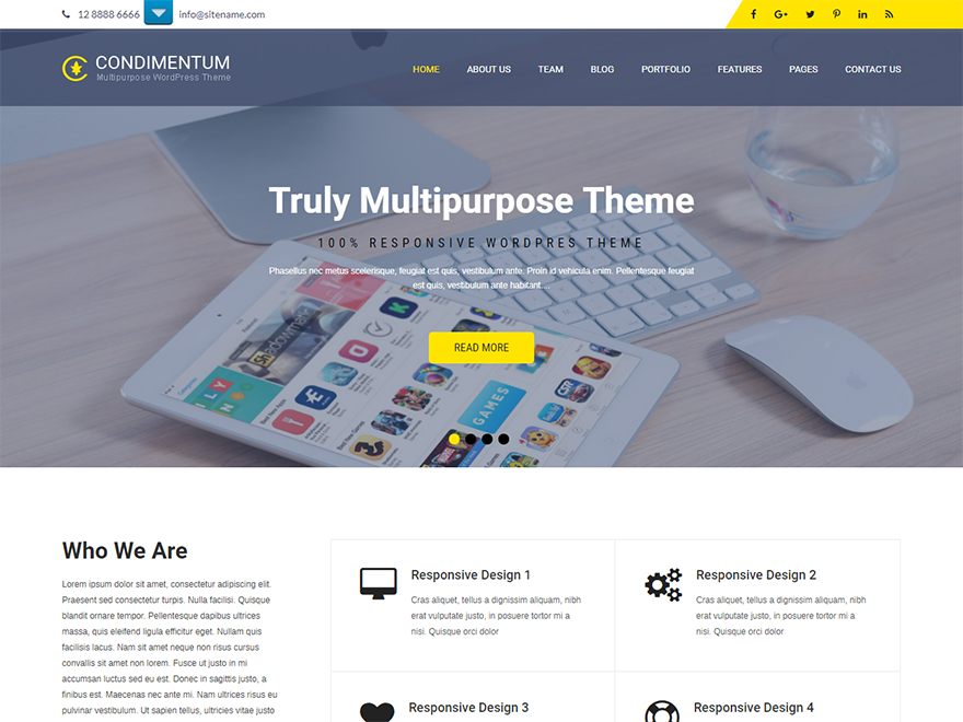 SKT Condimentum-Free Construction WordPress Theme