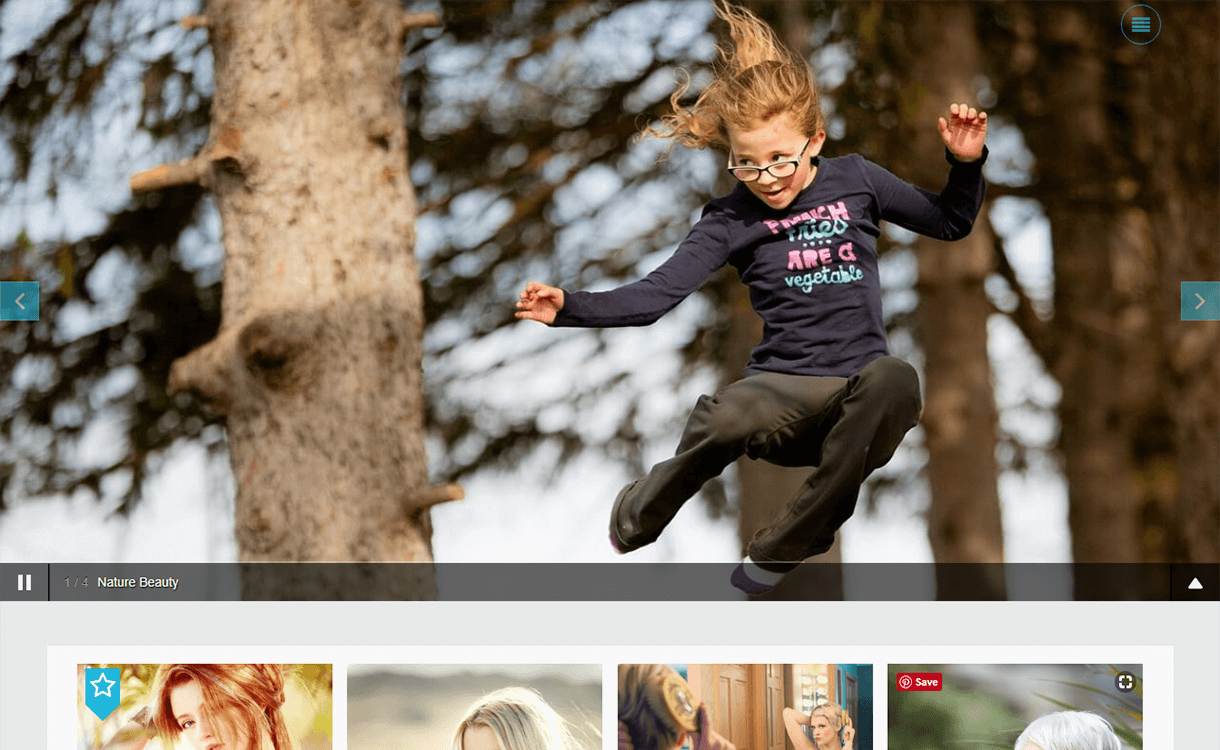 Click-Free Photography WordPress Theme