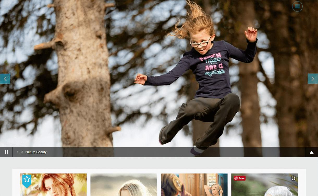 Click-Free Photography WordPress Theme