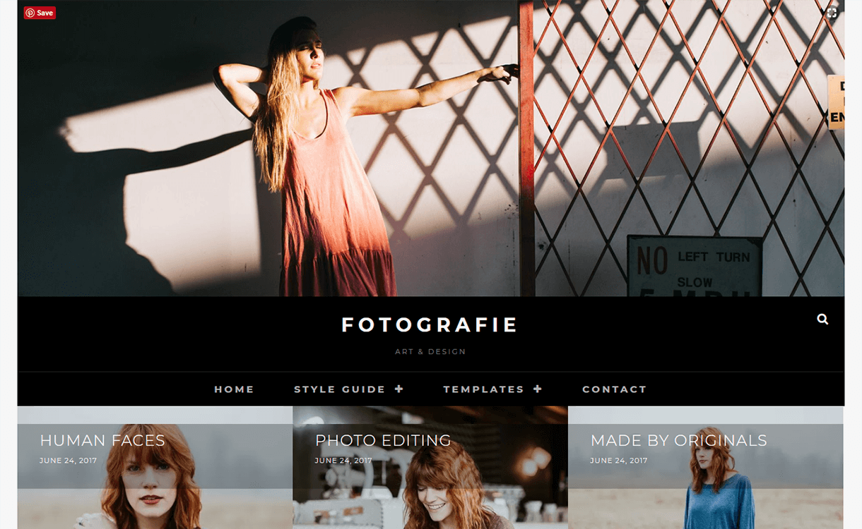 Fotografie-Free Photography WordPress Theme