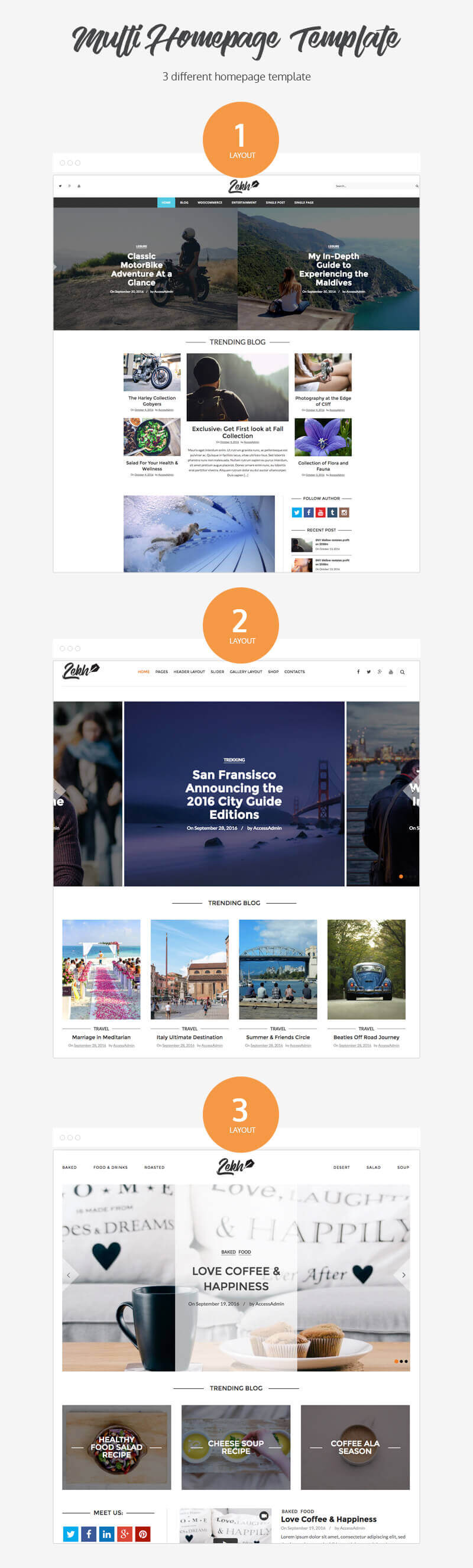Lekh – Best WordPress Premium Blog Theme