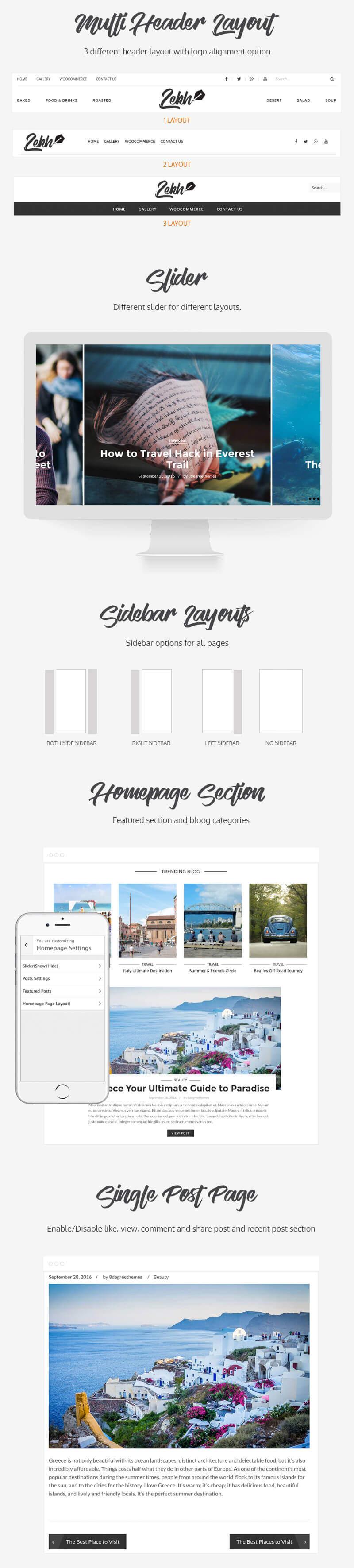 Lekh – Best WordPress Premium Blog Theme