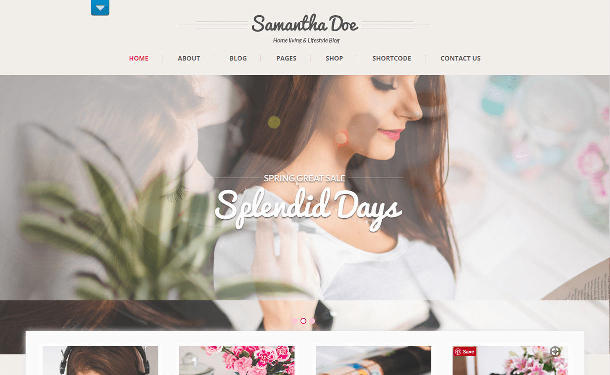 SKT Girlie Lite-Free Photography WordPress Theme