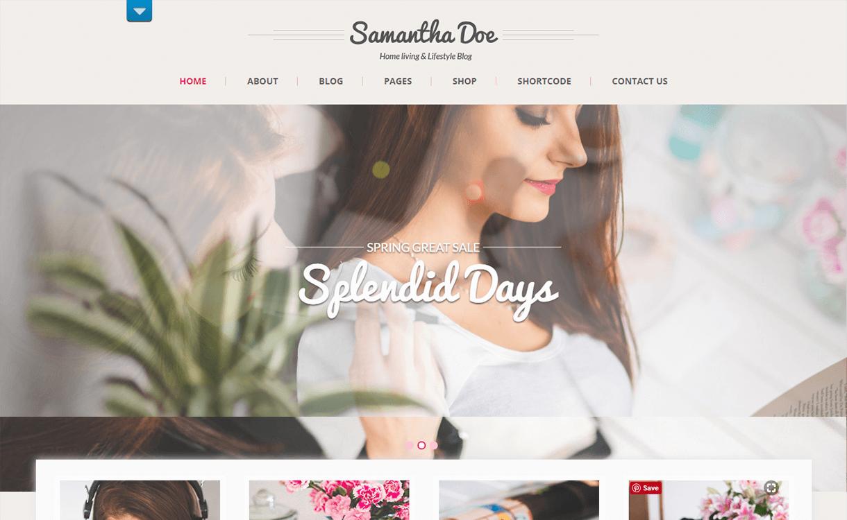 SKT Girlie Lite-Free Photography WordPress Theme
