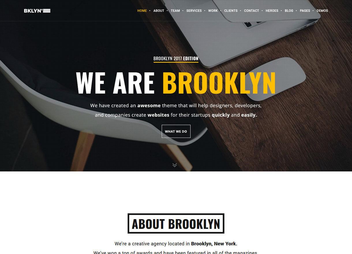 Brooklyn-Best Premium Real Estate WordPress Themes