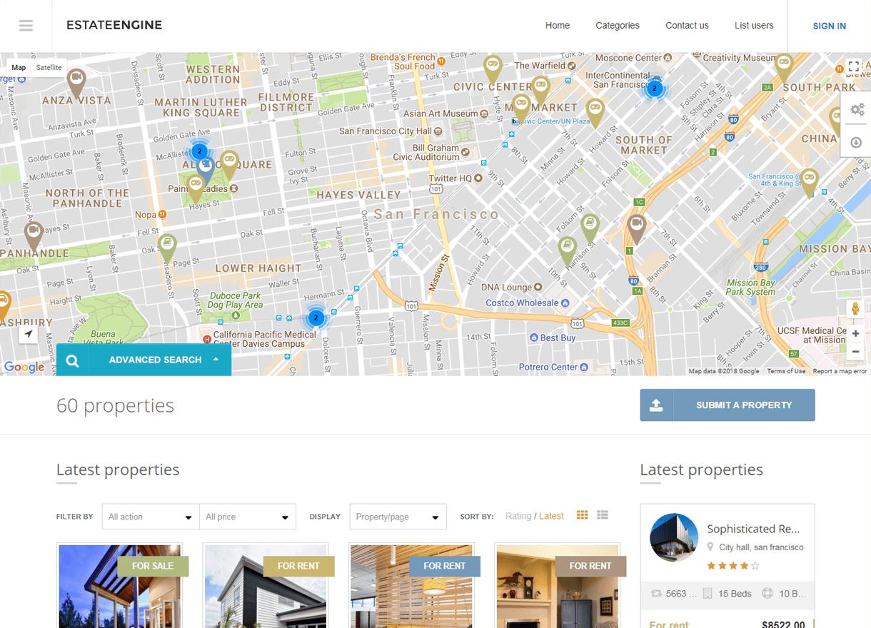 EstateEngine-Best Premium Real Estate WordPress Themes