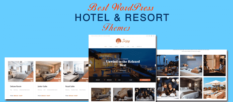 Best WordPress Hotel and Resort Themes