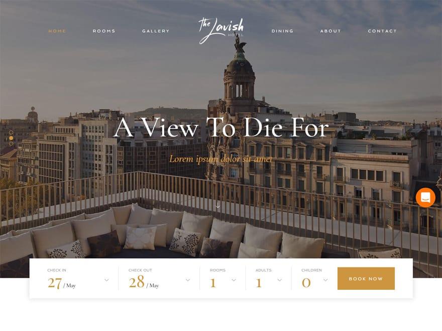 Haven - WordPress Hotel and Resort Themes