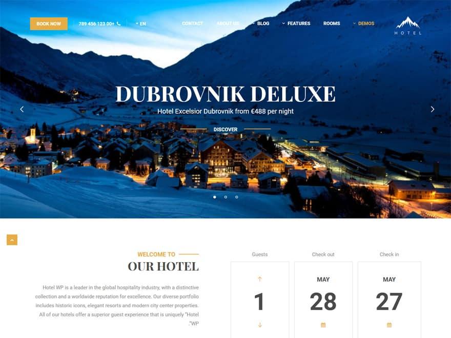 Hotel WP - WordPress Hotel and Resort Themes