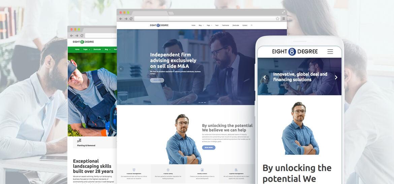 Eight Degree Pro – WordPress Corporate Business Premium Theme