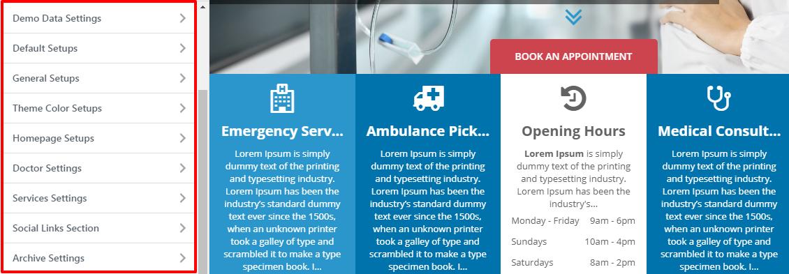 eightmedi customization options