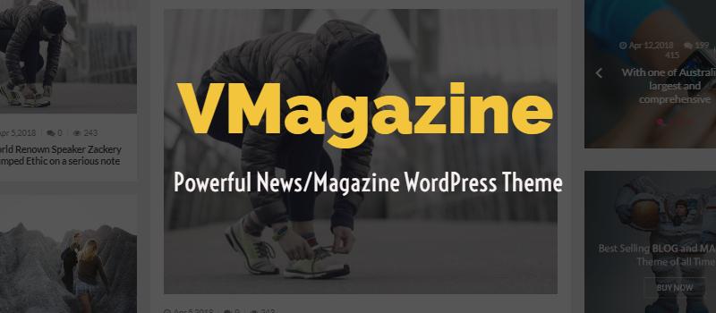 VMagazine - Powerful & Flexible WordPress theme for Newspaper, Magazine and Blog