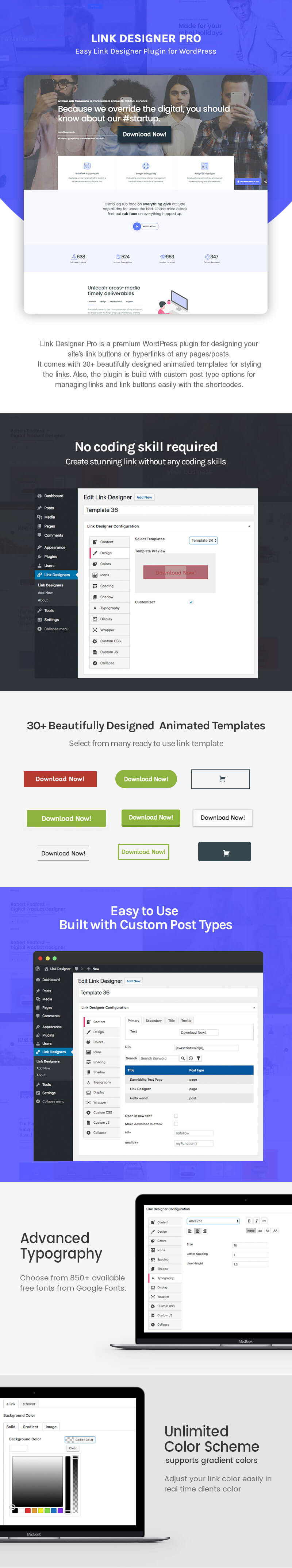 Link Designer – Premium Link Designer Plugin for WordPress