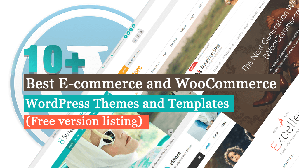 Best free wordpress ecommerce woocommerce themes and templates 1
