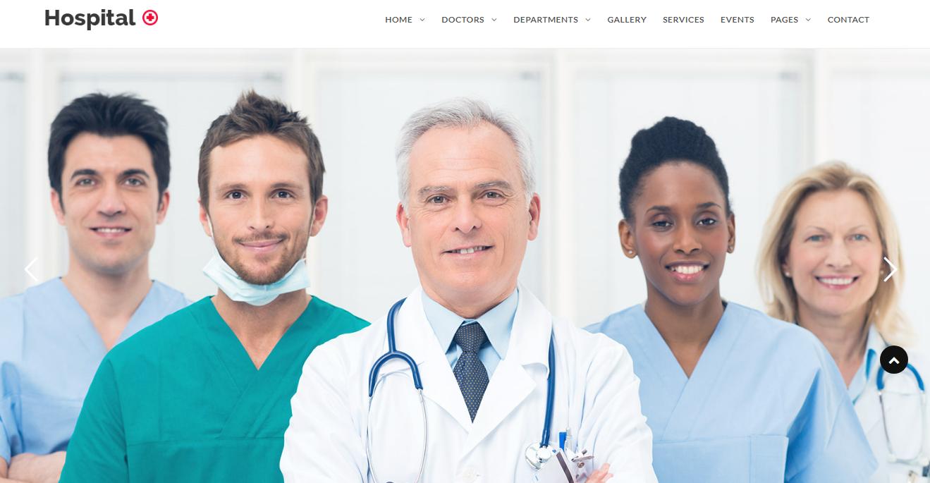 Hospital+ - Premium Hospital Medical Doctor WordPress Theme