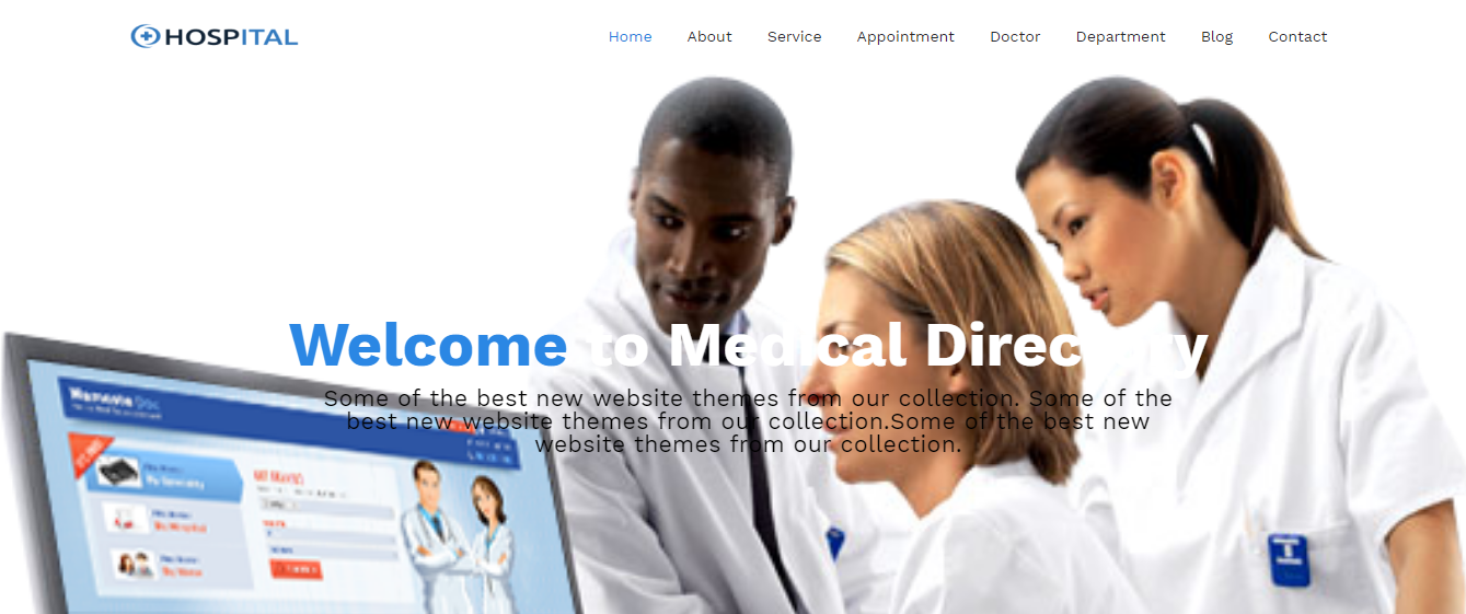 Hospital - Premium Hospital WordPress Theme