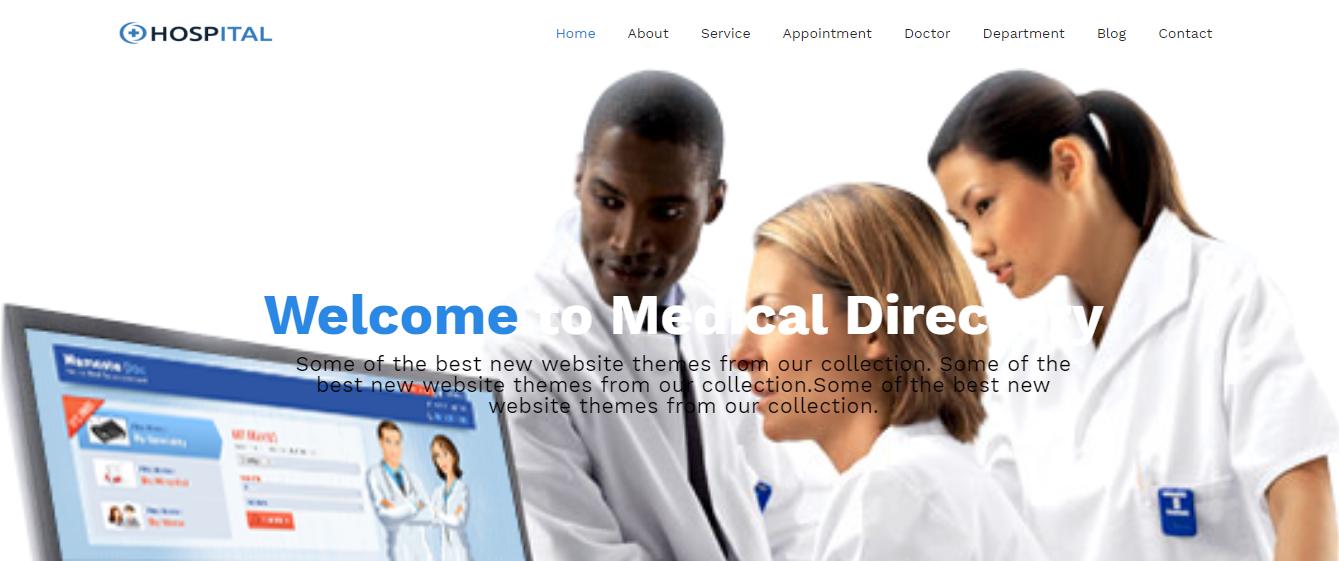 Hospital - Premium Hospital WordPress Theme