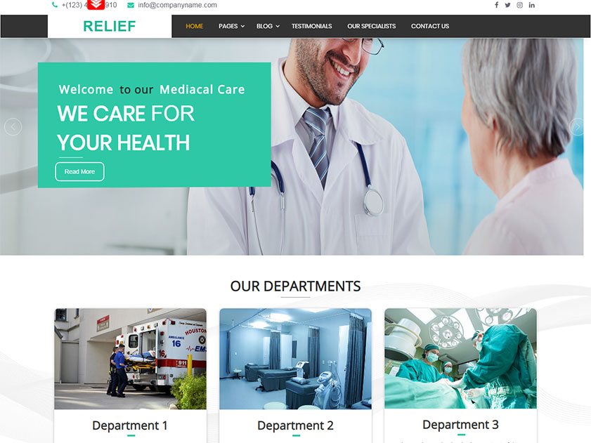 relief-medical-hospital-free-wordpress-theme-