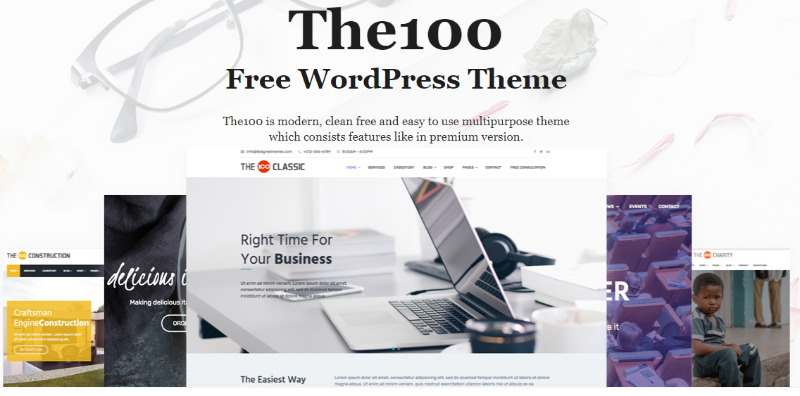 The 100 Free WordPress Theme