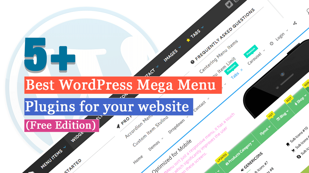 Best WordPress Mega Menu Plugins for your website