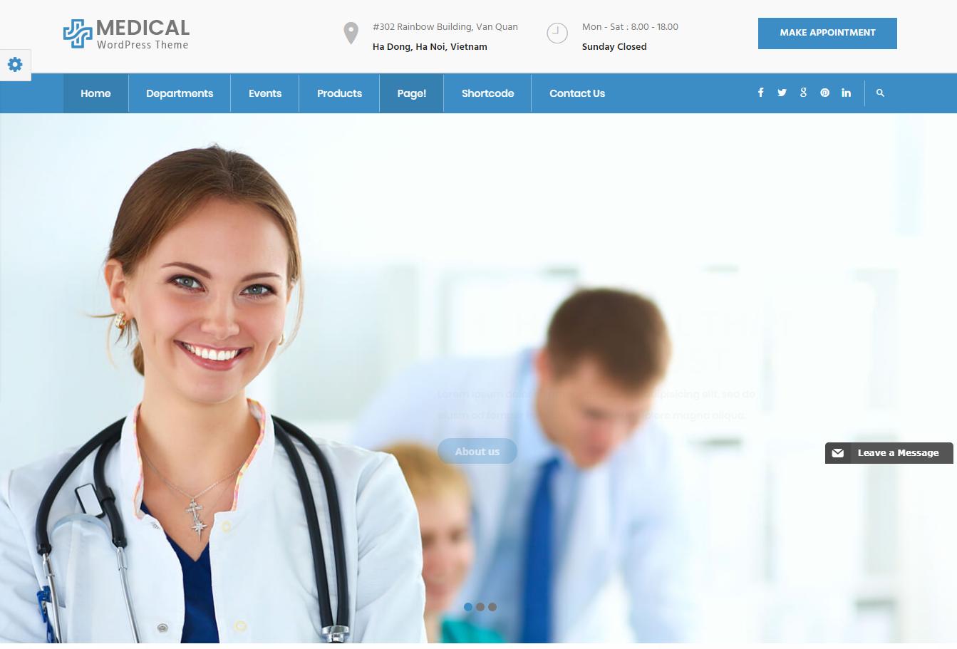 inMedical - Multipurpose Medical WordPress Theme