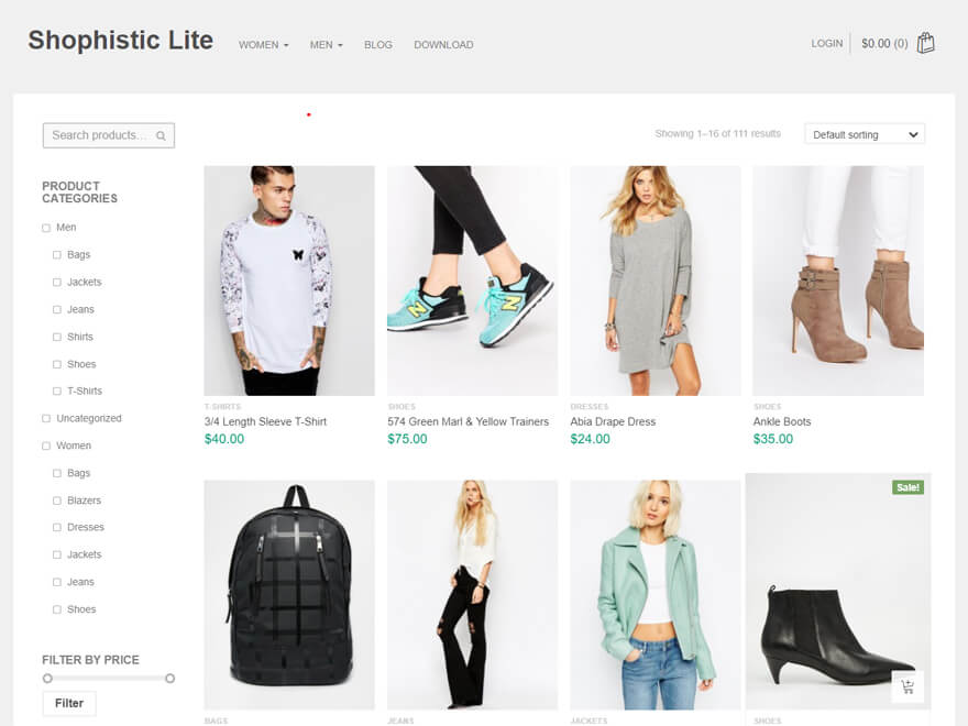 Shophistic Lite - Best E-commerce and WooCommerce WordPress Themes and Templates